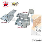 "Galvanised ""Z Shape"" Brace Bracket Joist Timber Mending Plates Thickness:2.5mm"