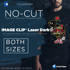 Laser-Dark Transfer Paper -IMAGE CLIP- (No-Cut) SELF-WEEDING 2-PAPER-SYSTEM :)