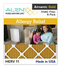 Alen® Airnamic Gold - Alergy Relieft Filters - MERV 11, 6-Pack  MADE IN US
