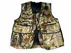 New Falconry, Hunting & Hawking Camo Waistcoat, Jungle Wild Full Vest, All Sizes