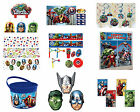 Avengers Birthday Party Tableware 2015 Range Decoration Items