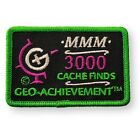Geocaching Achievement Patch - 3000 Finds AND UPWARDS