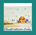 Winnie the Pooh Wall stickers -  Kids Childrens Nursery Bedroom Wall Art Decals