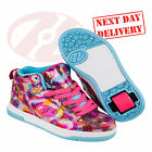 New Heelys Flash 2.0 High Top Wheeled Roller Skate Shoes