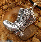Western Cowboy BOOTS Spurs Sheriff Star Horse American Country Music Key Chain