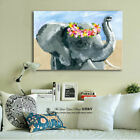Abstract Lion Stretched Canvas Print Framed Wall Art Home Kids Decor Animals DIY