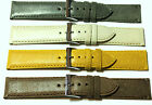 Great Colours - Distressed Vintage Style Leather Watch Strap 18mm, 20mm, 22mm