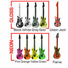 Large Inflatable Guitar Microphone Rock Roll Air Stag Hen Party Kids Bag Filler