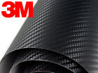 3M 1080 Black Carbon Fiber Vinyl Car Wrap Decal