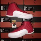 2016 Nike Air Jordan Retro 12 XII Gym Red Mens GS 130690-600 Size: 4y-14