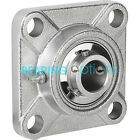 SF204 - SF212 Square Housing Stainless Steel Bearing 20mm - 60mm Bore (UCF)