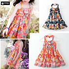 Vestito Bambina Abito Principessa Girl Summer Flower Princess Dress DG0044