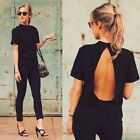 Fashion Women Summer Loose Top Short Sleeve Blouse Casual Tops T-Shirt New