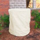 Heavy Duty Beige Water Fountain Cover Waterproof Various Sizes Available