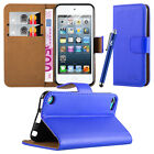 New Wallet Leather Flip Case Cover For APPLE iPod Touch 5th & 6th Generation