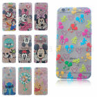 Cute Pattern Design Disney Cartoon TPU Soft Case For iPhone 5/5S/6/6S Samsung