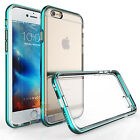 Shockproof Frame Bumper Clear TPU Back Case Cover for Apple iPhone 6 6s Plus