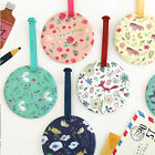 Cute Willow Story Round Name Tag Id Holder Travel Luggage School Bag