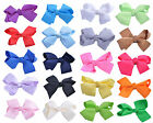 Hair Clips Bow Grosgrain Ribbon Alligator Slides Girls Clip Accessories - SINGLE