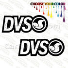 """2 of 5"""" DVS Shoes /A skate surf car truck window bumper stickers decals"""