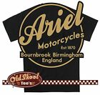 Classic Ariel Motorcycle T Shirt Vintage Logo Very retro Gift S-5XL Size