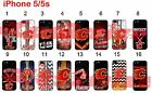 Calgary Flames iPhone 5s 5 Case Hard Silicone Case