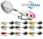 SpinMad TAIL SPINNER WIR 10g Var Colours Spinnerbait Lure Spinner Pike Perch