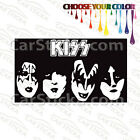 "1 of 8"" to 20"" Kiss Band Members /A artist car wall window stickers decal bumper"
