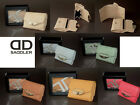 Saddler Leather Compact Purse Coin Enclose Card Slots Bank Notes Gift Boxed