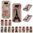 Pattern Soft TPU Transparent Silicone Case Cover For LG Tribute 5 K7 K4 K8 G5