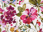 Floral Fabric, P Kaufmann PAINT PALETTE PUNCH Home Decor Fabric - By the Yard