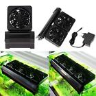 DC 12V 0.6A Aquarium Cooling Fan Fish Tank Great Cooling Fan P9Q7