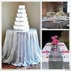 Silver Sparkly Sequin TableCloth Tablecloths for Wedding /Event/Party/Banquet