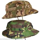 MENS SPECIAL FORCES TAILORED SUN HAT RIPSTOP COTTON CAMOUFLAGE HEADWEAR