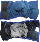 BELLY BAND Dog Diaper Male WASHABLE Reusable Waterproof Lining Padded XXS - XXXL
