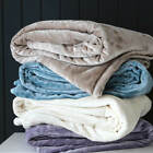 New Aspire Simply The Softest 350gsm Microfibre Blanket