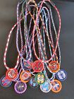 NFL Football Bottle Cap Paracord Necklace Choose Team