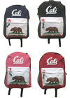 CALI Backpack School Pack Rucksack Hiking Day Bag Carry On Camping Gym 4 Colors
