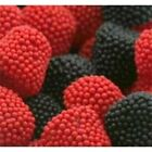 Jelly Belly Candy, Raspberries & Blackberries candies, Red and Black Gum Drops