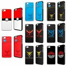 POKEMON GO POKEBALL PIKACHU POKEDEX CASE COVER FOR IPOD TOUCH 4TH 5TH 6TH GEN