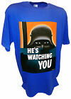 He's Watching Propaganda Poster Art WW1 Ww2 German Hun Military War Bond T Shirt
