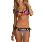 Sexy Beachwear  Padded Women  Bandeau Push-Up Swimsuit Bikini Swimwear Set Bra
