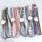 1PC New Fashion Quartz DIY Multilayer Bracelet Watch For Women