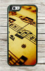 MUSIC SHEET FOR ARTIST CASE FOR iPHONE 6 6s or 6 PLUS 6s PLUS -mol8Z