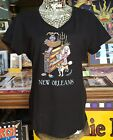 DOG JAZZ TRIO, NEW ORLEANS, Jamie Hayes, WOMEN'S HANES 100% COTTON V-NECK POODLE