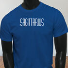 Horoscope Fire Jupiter Sagittarius Zodiac Astrological Sign Mens Blue T-Shirt