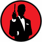 James Bond 007 Classical Circle Logo Vinyl Sticker  for laptop, phone, car, xbox $2.5 CAD