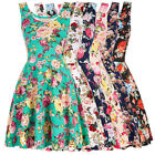 Womens Stylish Slim Fit Casual Sleeveless U-Neck Dresses Party Cocktail Evening