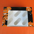6 Cup Halloween Cupcake Boxes with inserts