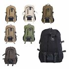 Men's Canvas Backpack Rucksack Laptop Shoulder Travel Hiking Camping Bag E1